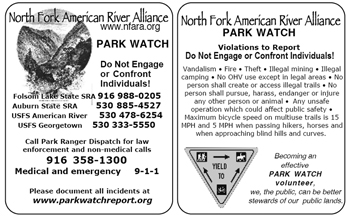 ParkWatch card